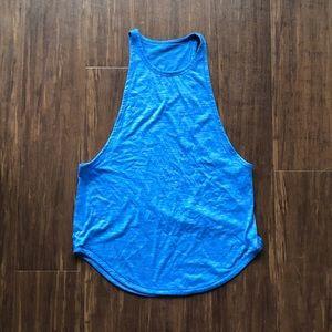 Lululemon Blue Tank Top
